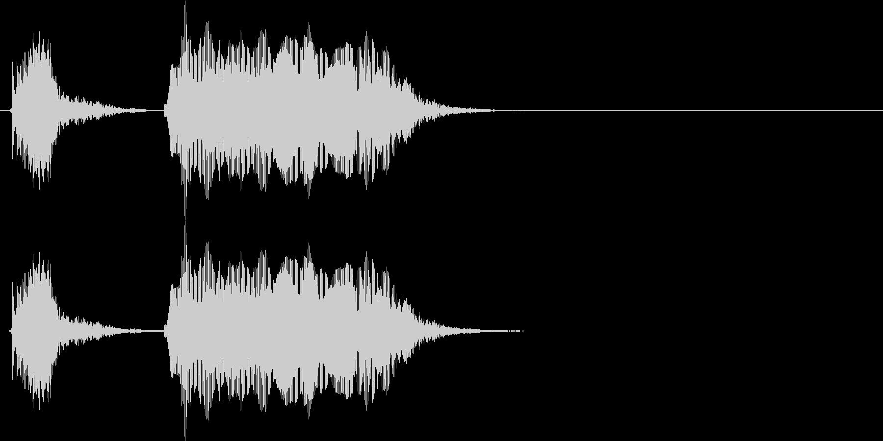 オッケー(幼児)の未再生の波形