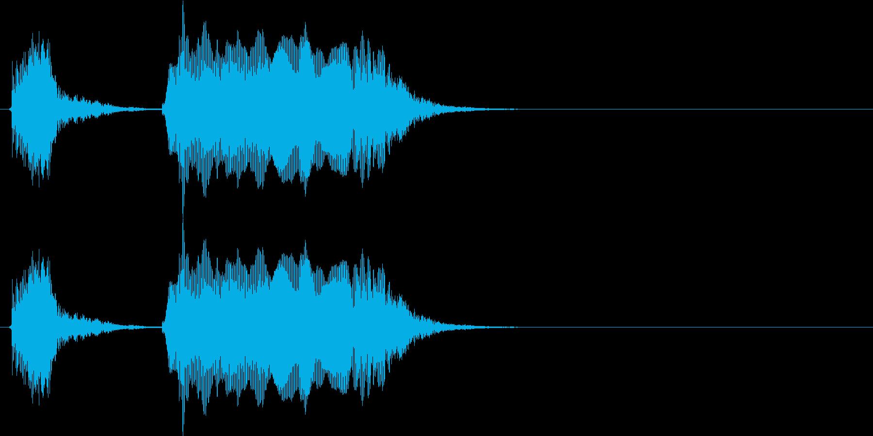 オッケー(幼児)の再生済みの波形