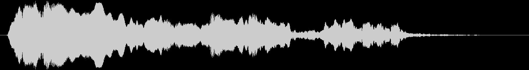 トンビ(トビ、鳶)ヒィヨォーロロロの未再生の波形
