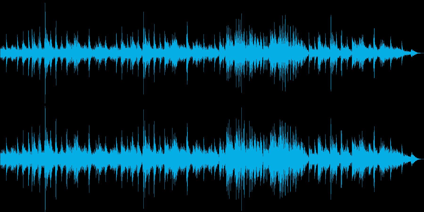 ギターデュオによる遠くを眺めるような曲の再生済みの波形