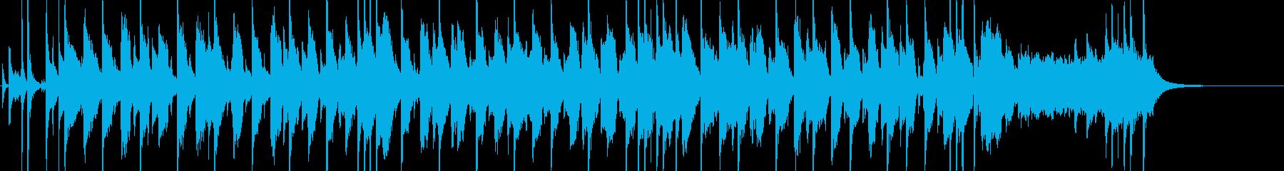 ゴージャス・おしゃれ・ジャズの再生済みの波形