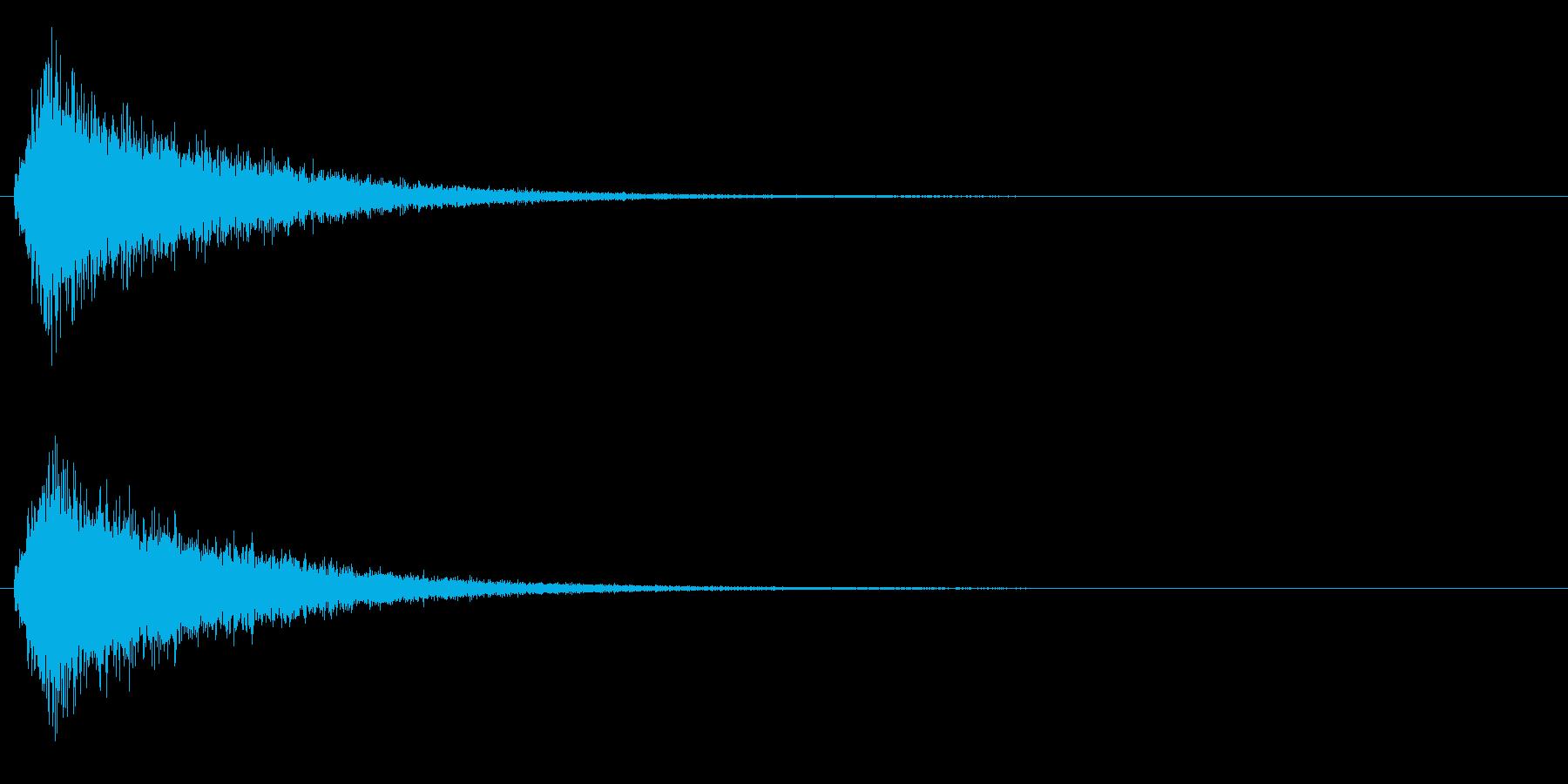 サーッ+シューン(消え去る/消滅)の再生済みの波形