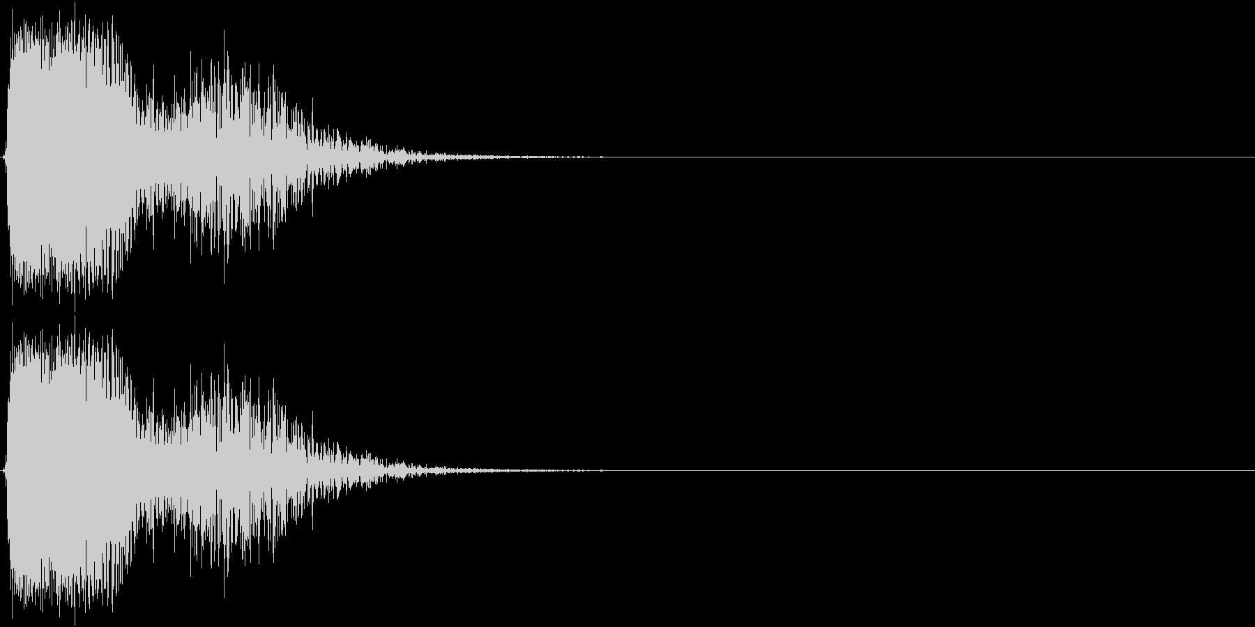 KAKUGE 格闘ゲーム戦闘音 54の未再生の波形