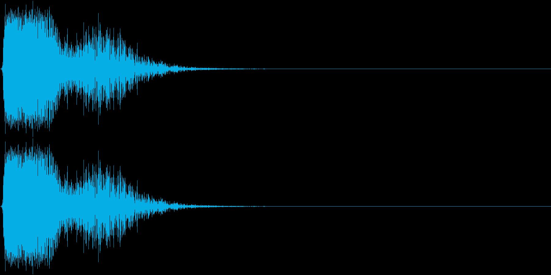 KAKUGE 格闘ゲーム戦闘音 54の再生済みの波形