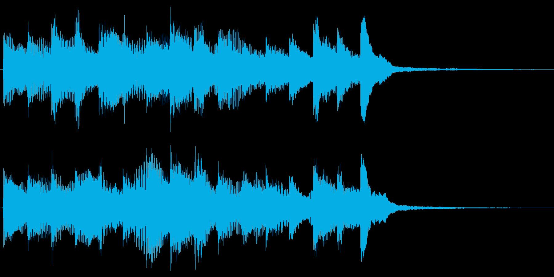 パチンコ 大当たりフィーバー用の再生済みの波形