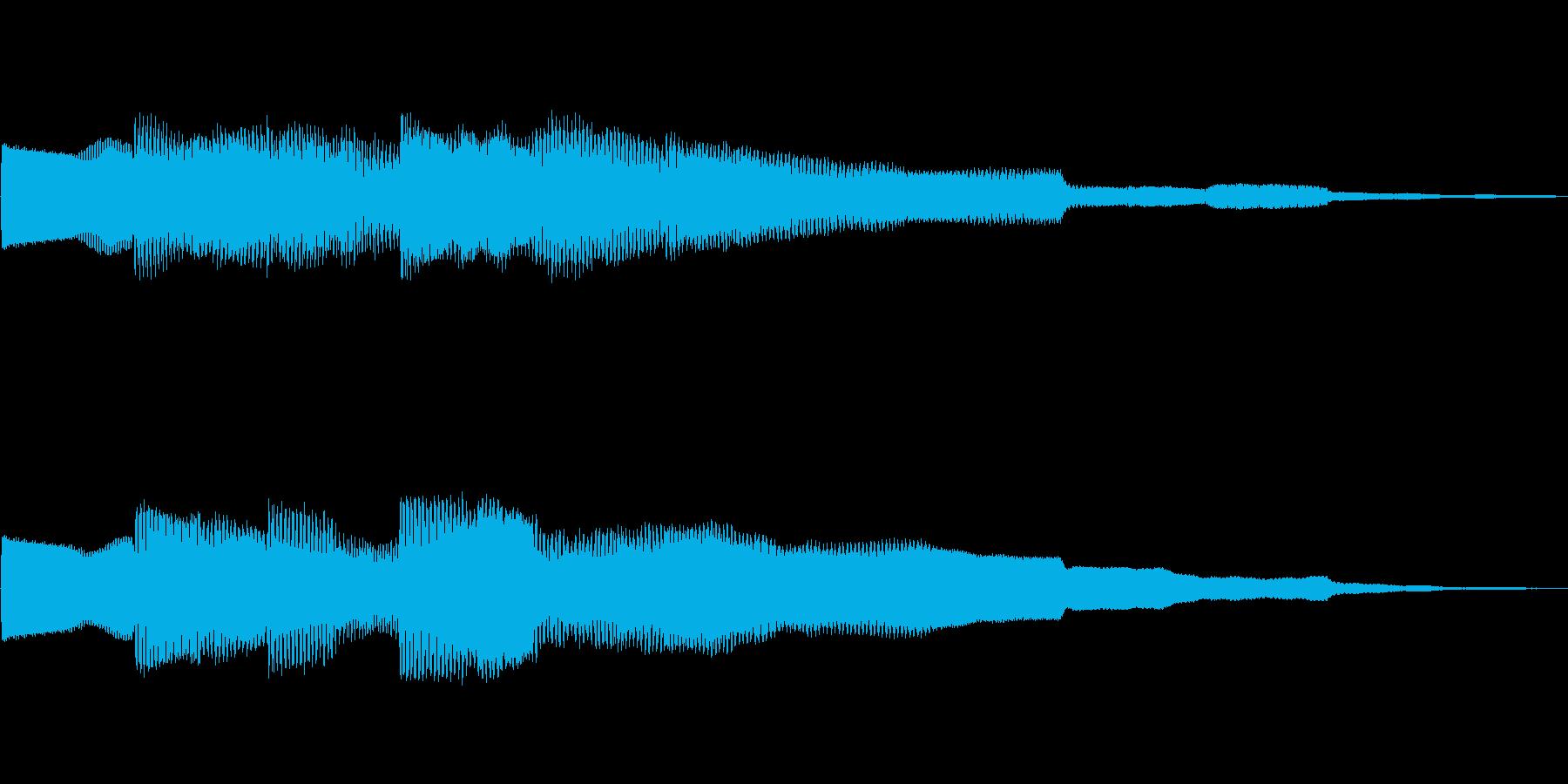ピコピコーン!!クイズ回答タッチ 02の再生済みの波形