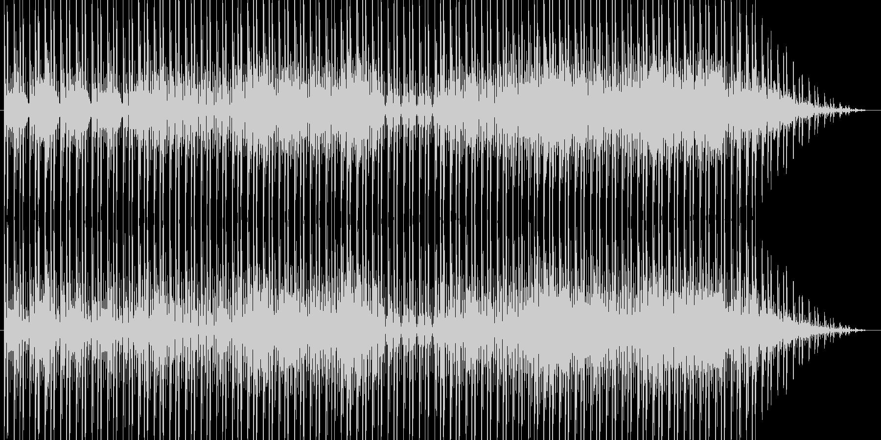 のどかな雰囲気のR&Bですの未再生の波形
