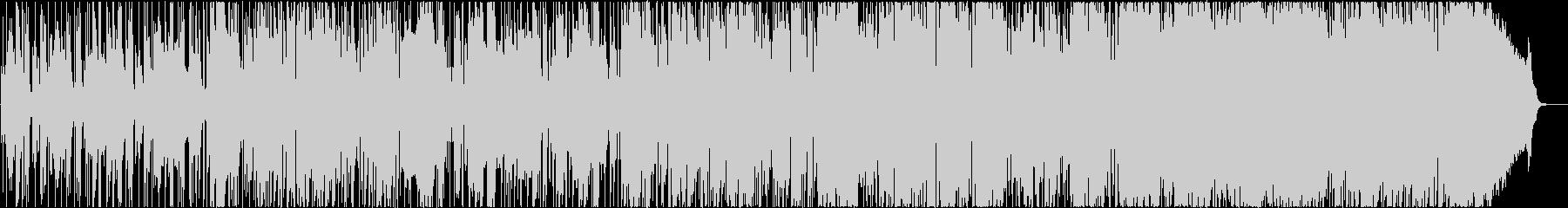 アルトサックスのお洒落なスムースジャズの未再生の波形