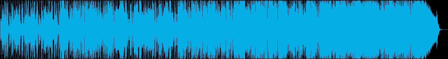 アルトサックスのお洒落なスムースジャズの再生済みの波形