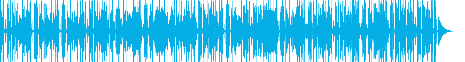 ピアノ+アコギのポジティブなBGMの再生済みの波形