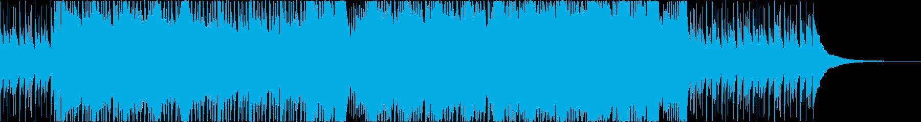 グランジ+スタジアム感なロックの再生済みの波形