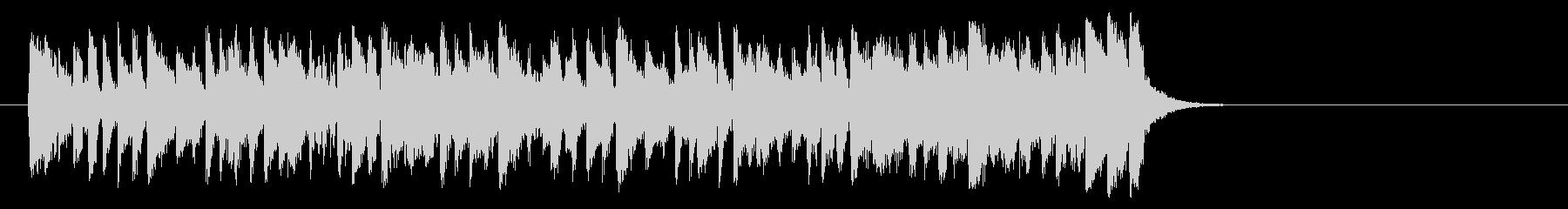 夏のフュージョンポップ(サビ)の未再生の波形