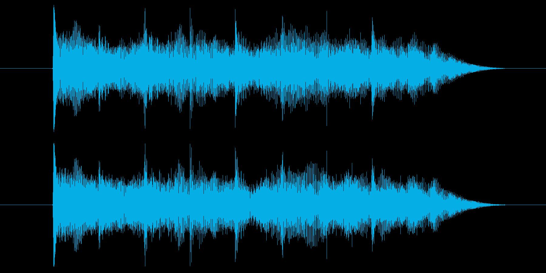 ゲームオーバー効果音 はずれ ミス 負けの再生済みの波形