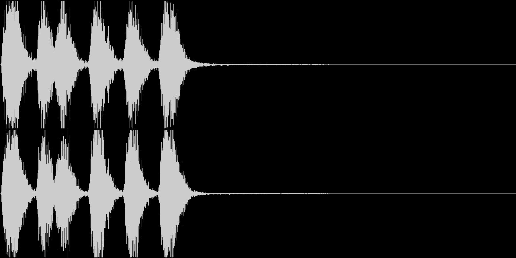 トランペット ファンファーレ 定番 14の未再生の波形
