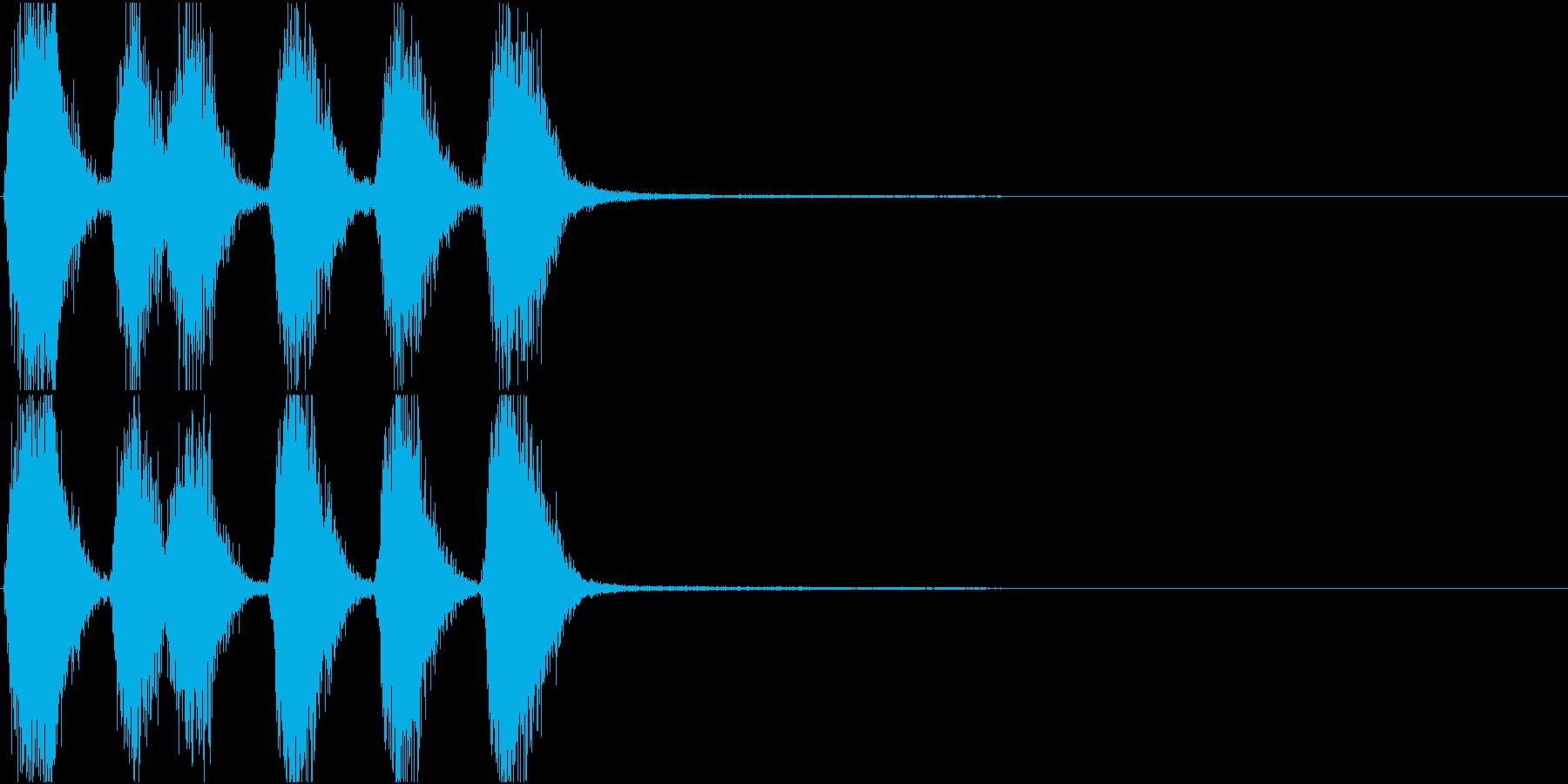 トランペット ファンファーレ 定番 14の再生済みの波形