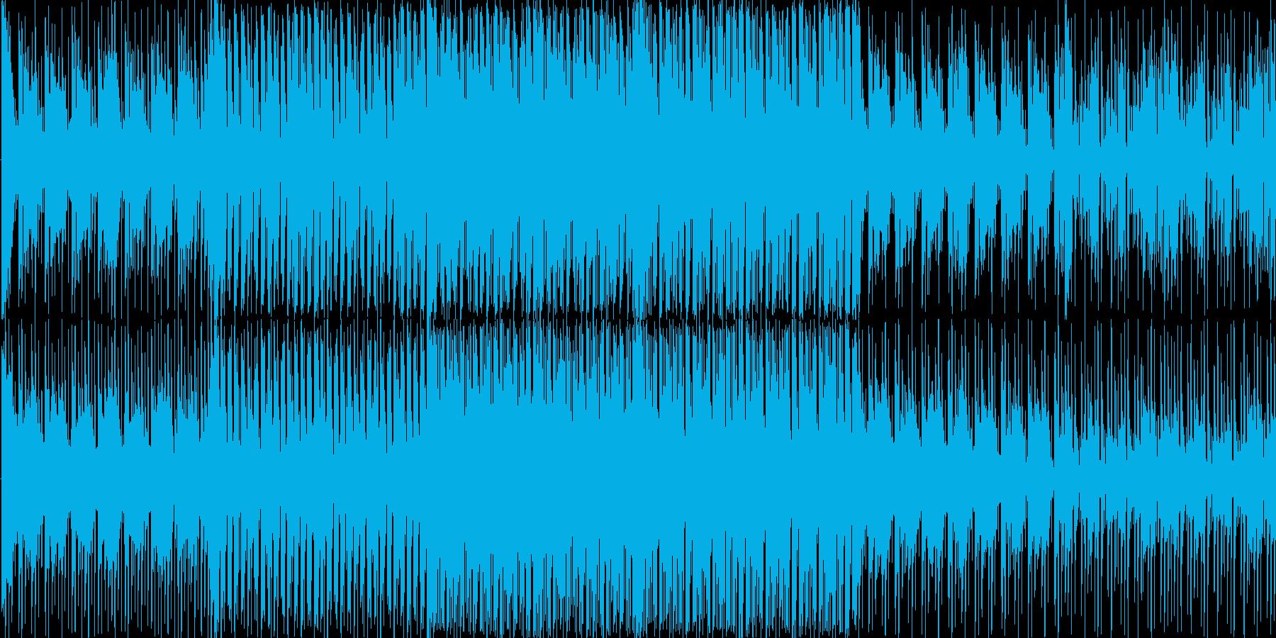 クールなキャラセレクトBGMの再生済みの波形