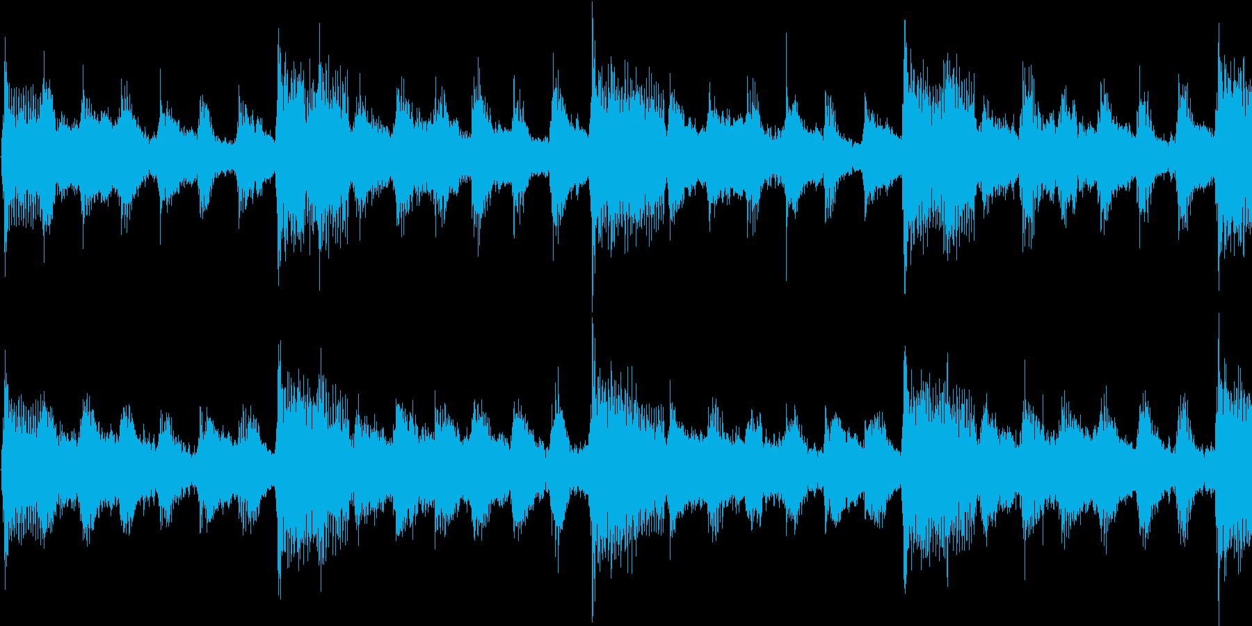 子供向けの陽気な雰囲気のジングル_ループの再生済みの波形