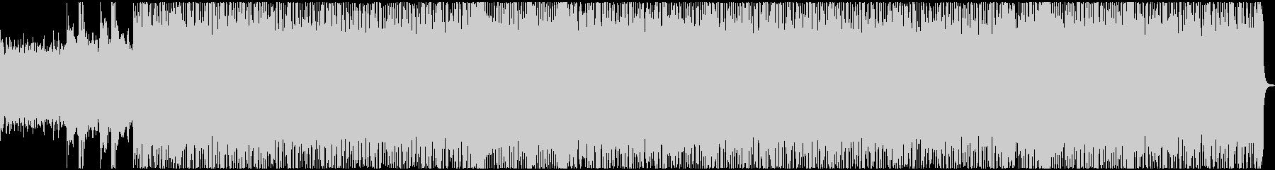 ヘヴィリフがイカツイ重量級のBGMの未再生の波形