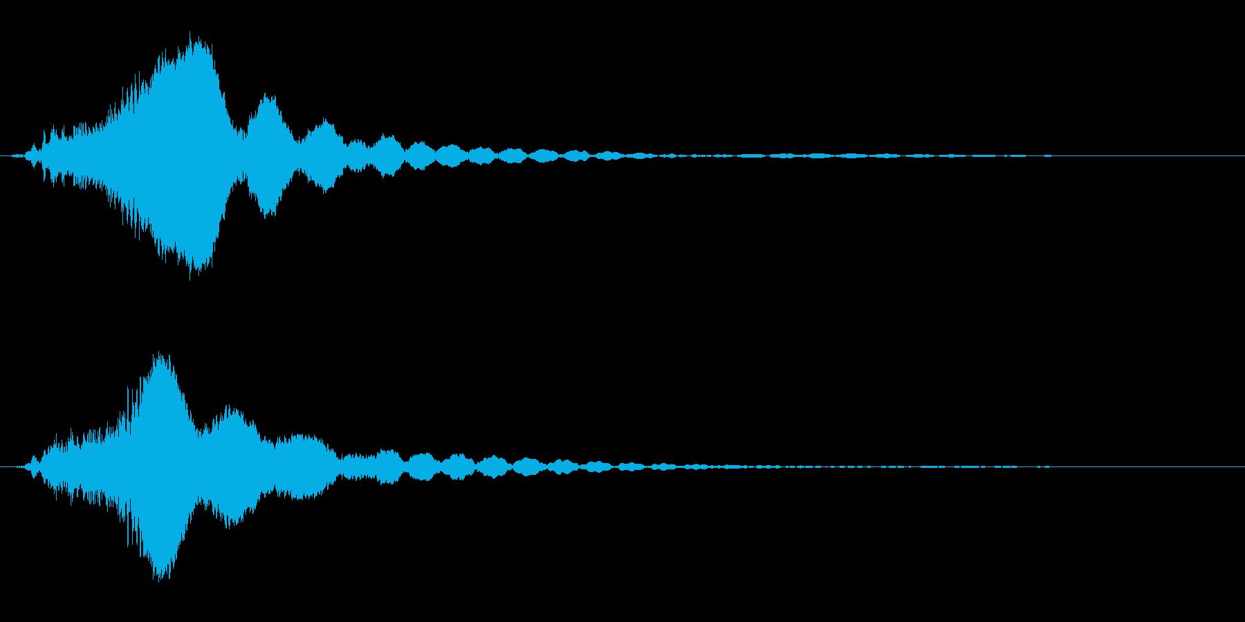 キラキラ☆ピキーン(星の輝き 魔法10Cの再生済みの波形