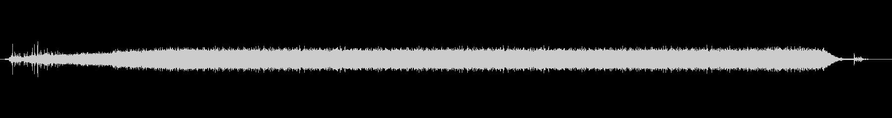 シャワー音(ジャー)の未再生の波形