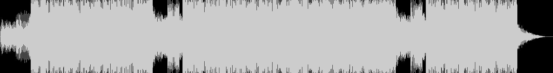 明るい雰囲気のシンセポップの未再生の波形