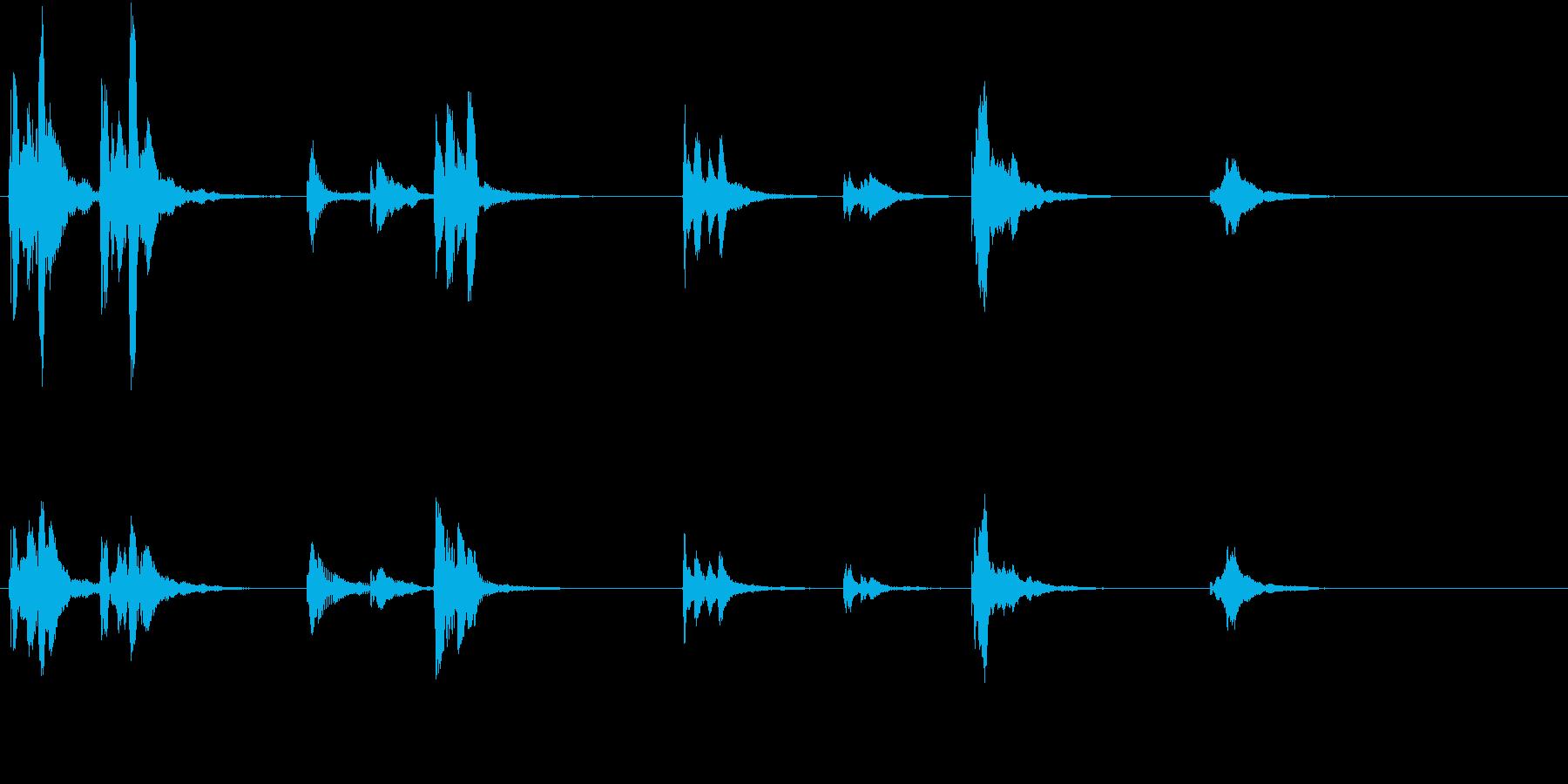 トムとジェリー風アニメ音楽「ウィンク」1の再生済みの波形