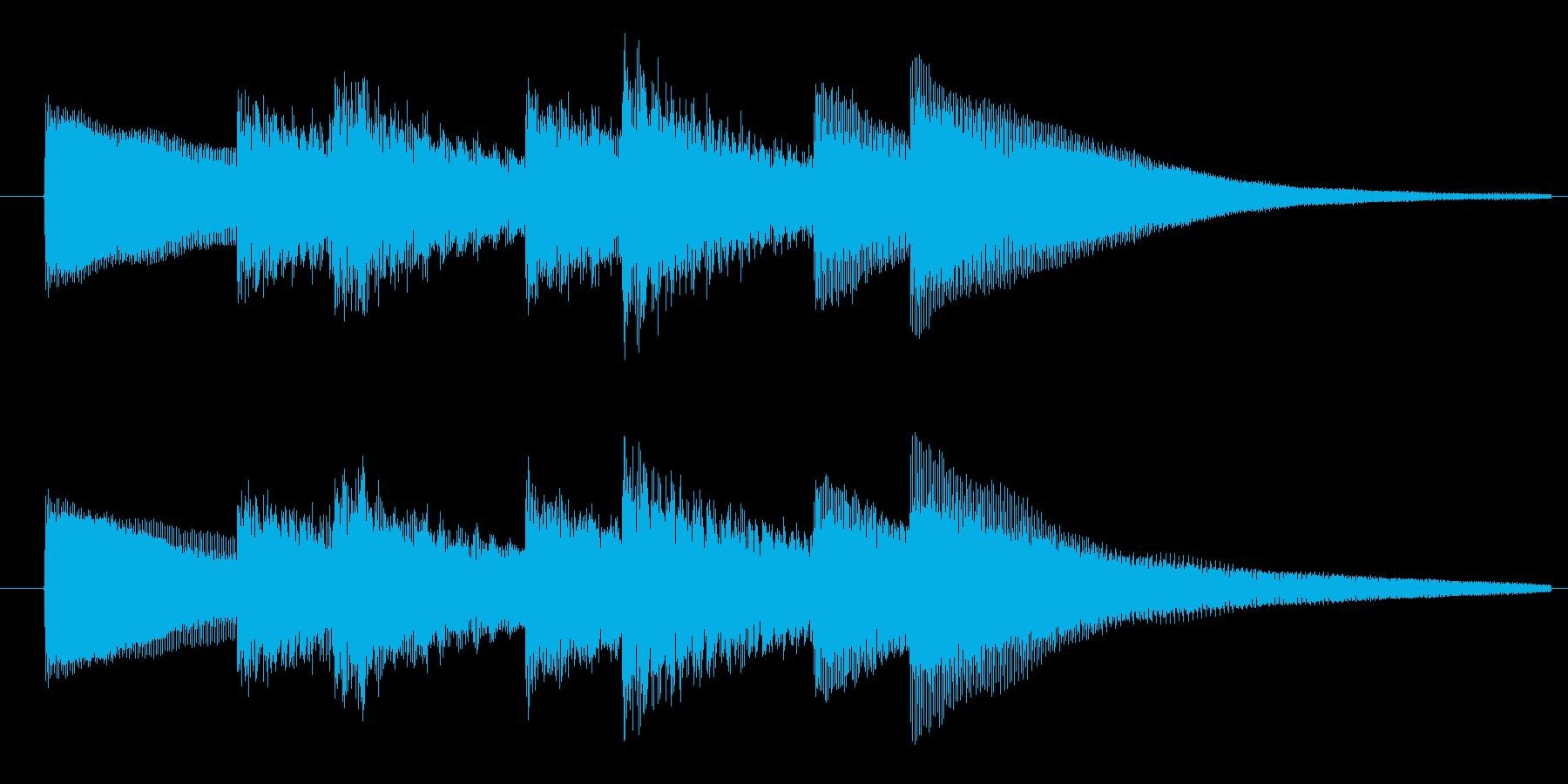 単純明快!スキップの3秒サウンドロゴ!の再生済みの波形