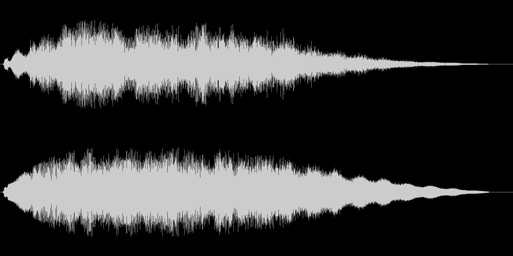 ティリュルラララララの未再生の波形