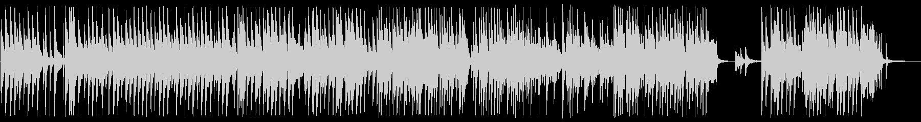 卒業生退場に合うピアノBGMの未再生の波形