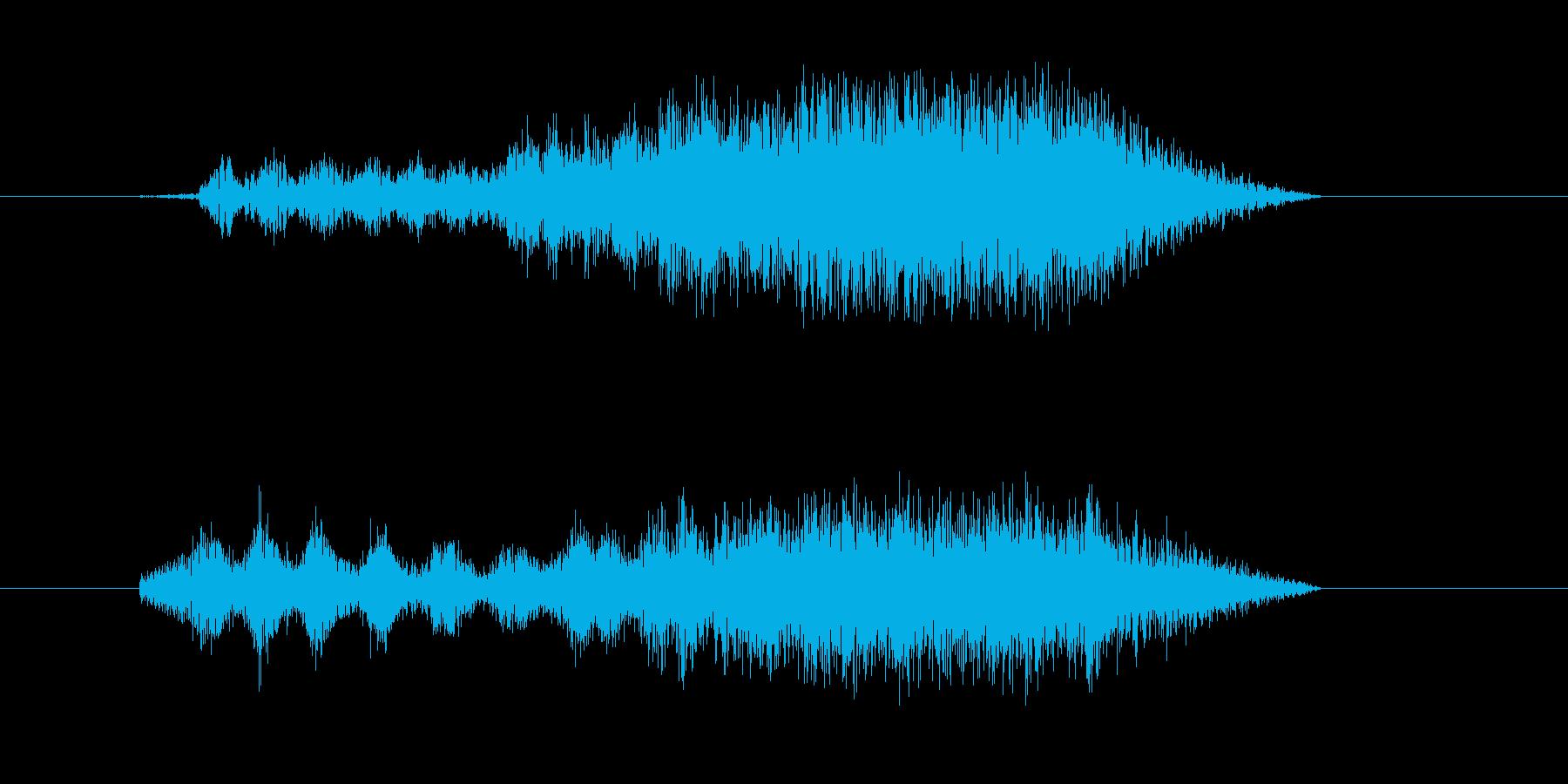 パワーチャージ/体力吸収の再生済みの波形
