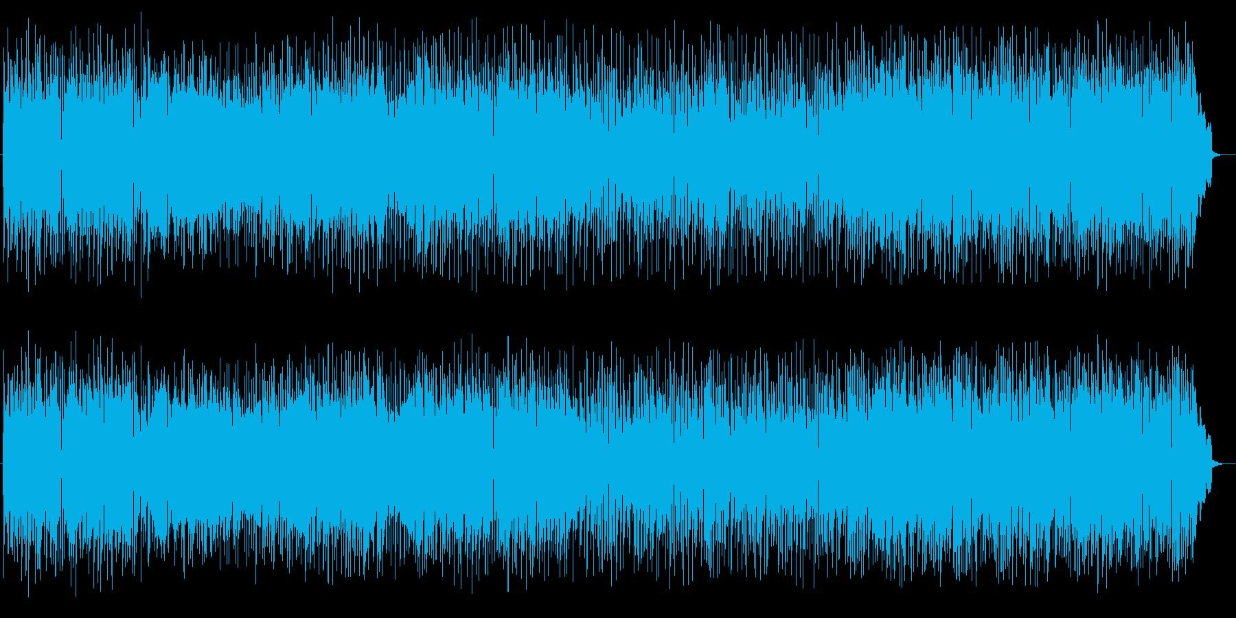 可憐なリラクゼーションミュージックの再生済みの波形