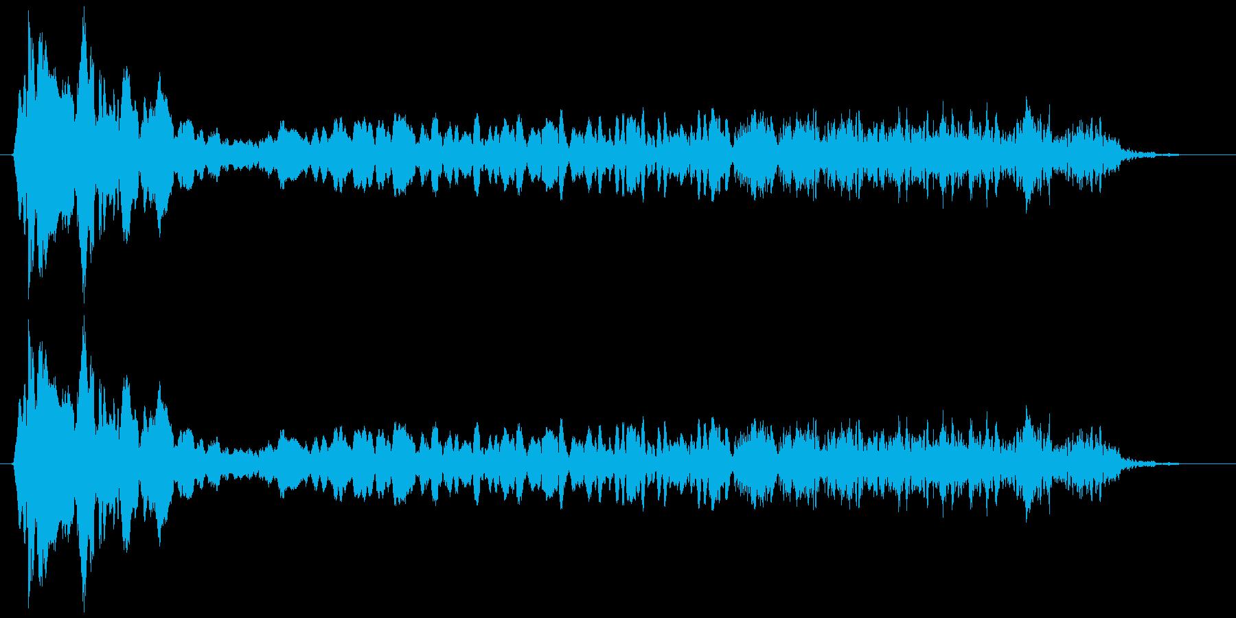 トンビ(トビ、鳶) ピーヒョロロロ 長めの再生済みの波形
