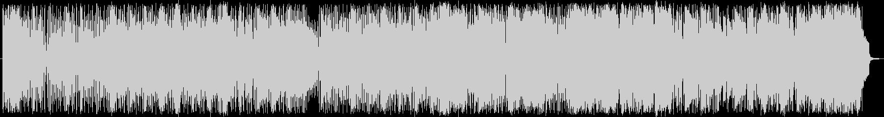 ファンクなスラップベースのフュージョン曲の未再生の波形