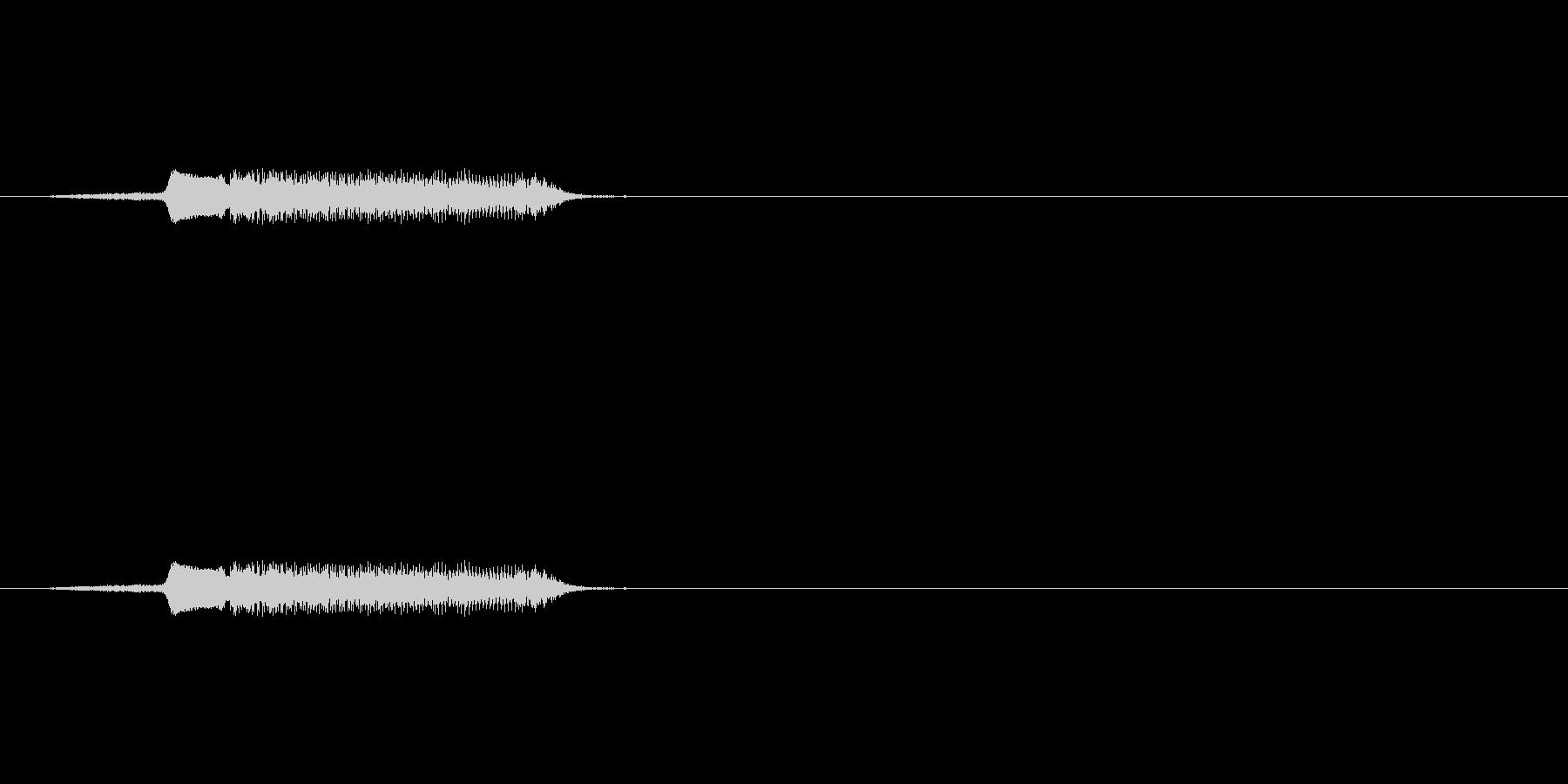 【ブーブークッション02-4】の未再生の波形