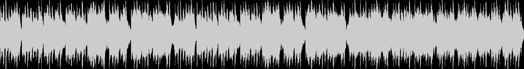 陽気な民族音楽風の曲 ループ可の未再生の波形