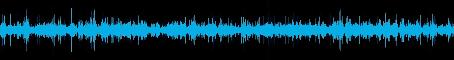 ムードノイズ(環境音)「サラサラ…」4の再生済みの波形