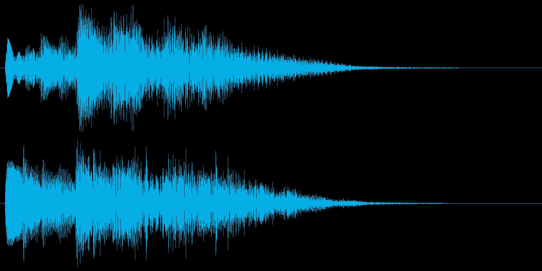 ハープのアルペジオ クリア 達成 成功の再生済みの波形