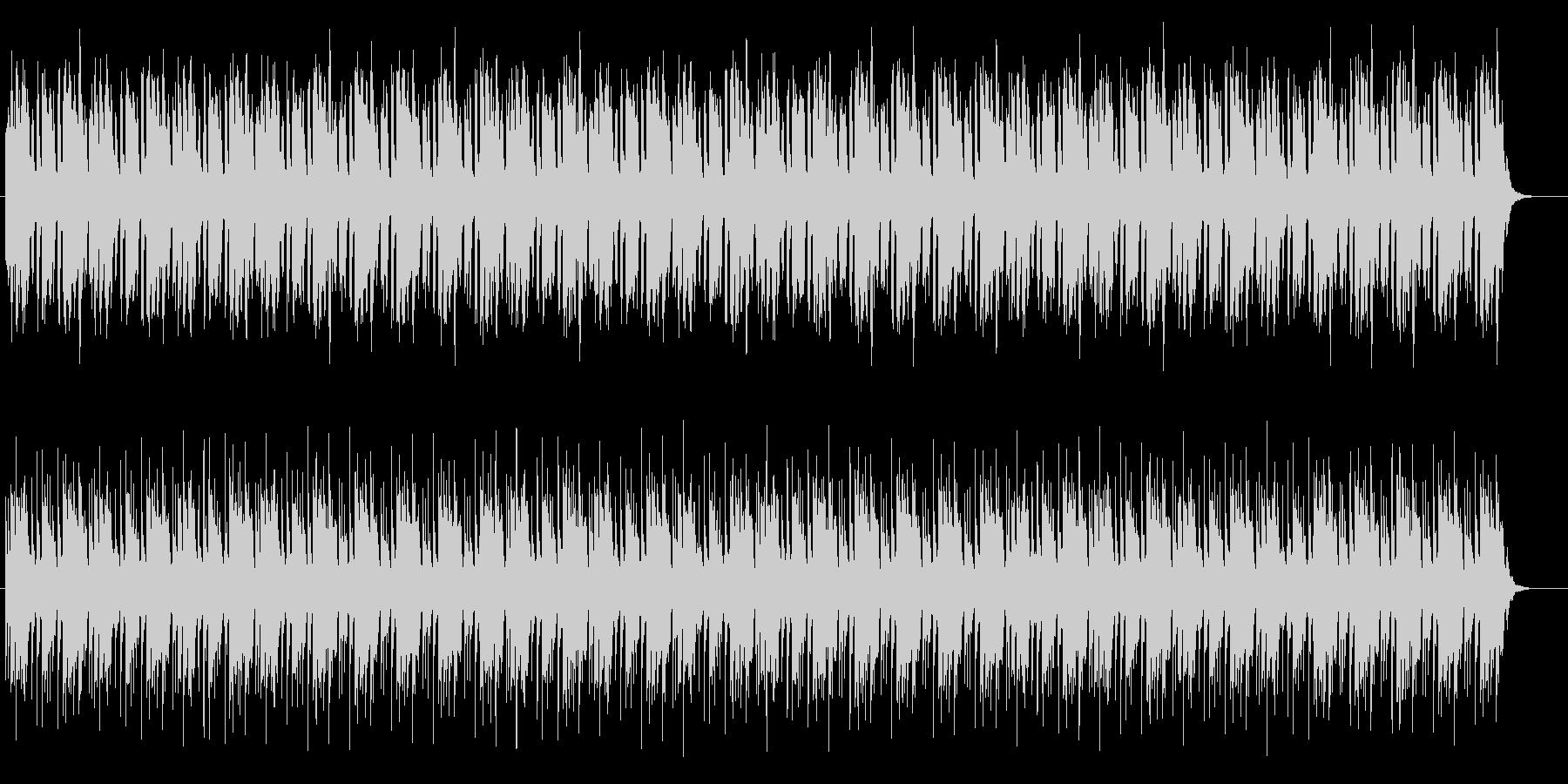 明るく単調なエレクトリックの未再生の波形