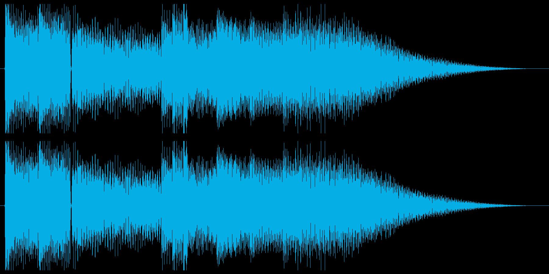 始まりを感じさせるエレピのジングルの再生済みの波形