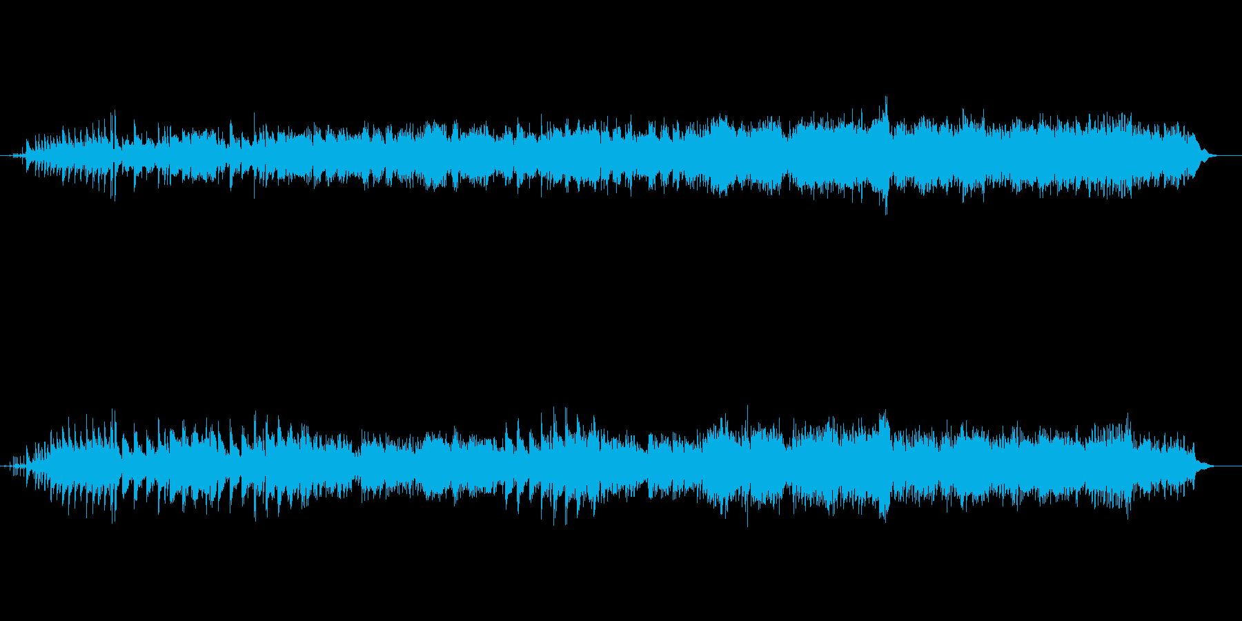 ポップ調な明るいメロディーストリングスの再生済みの波形