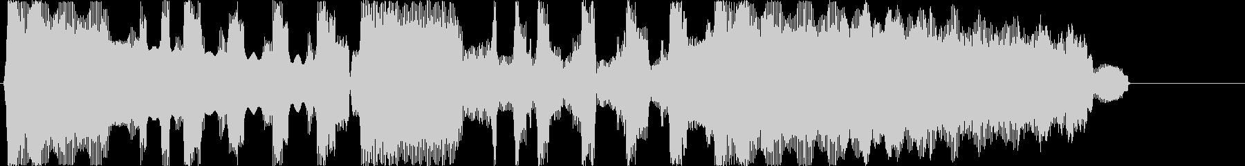 ゲームクリアのジングルですの未再生の波形