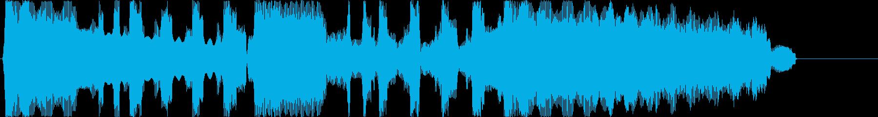 ゲームクリアのジングルですの再生済みの波形