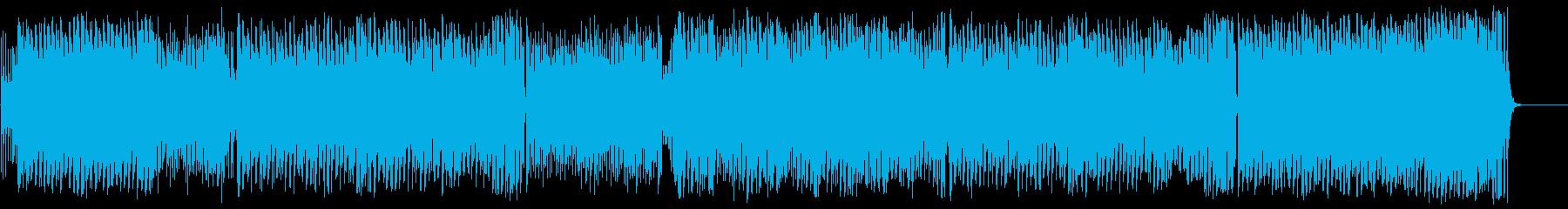 前進 躍動 スピード レース スリルの再生済みの波形