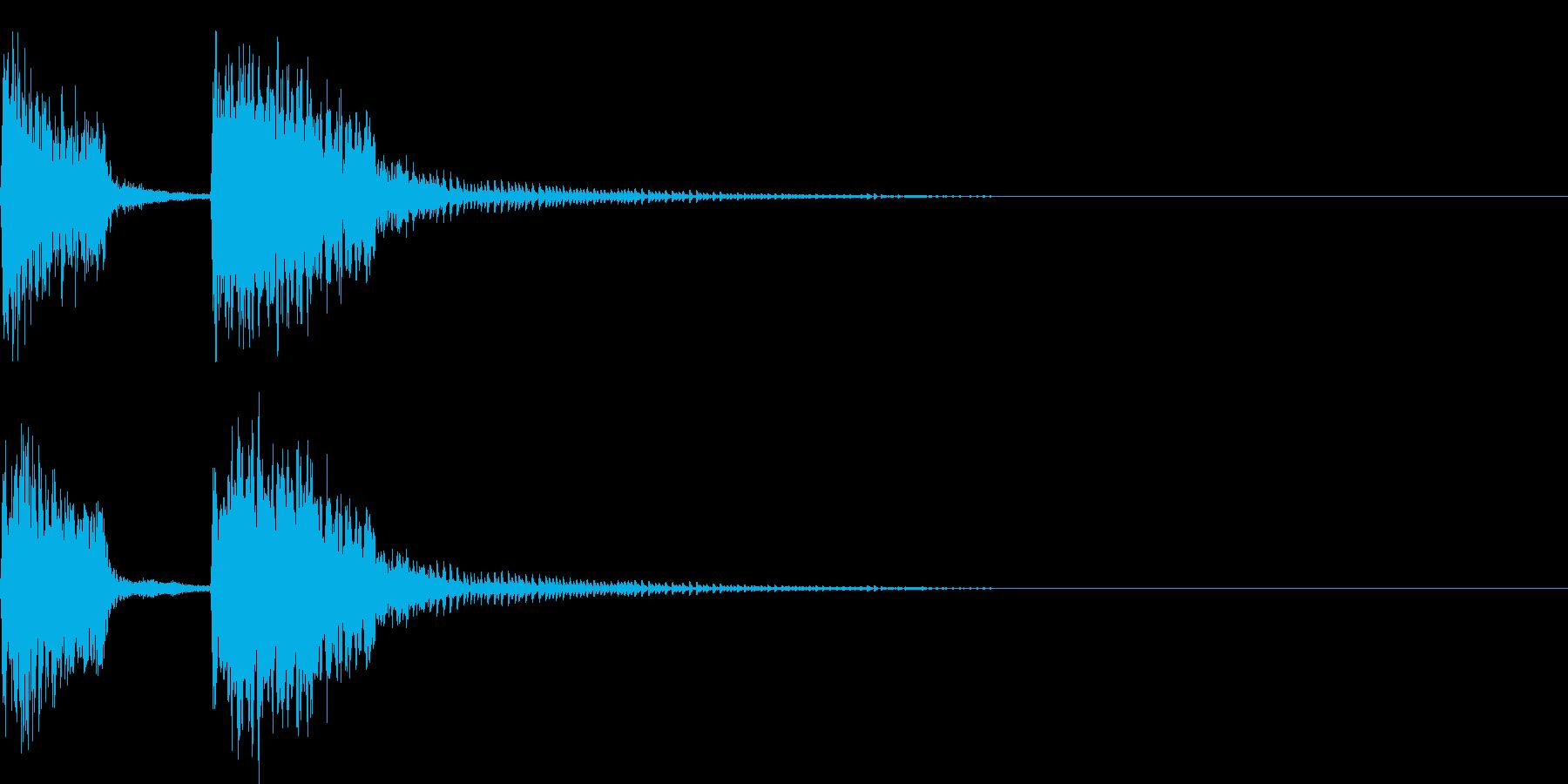 チャンチャン♪お笑いのオチ 効果音10!の再生済みの波形