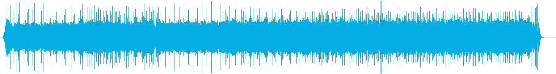ピアノが印象的なシンセオーケストラ楽曲の再生済みの波形