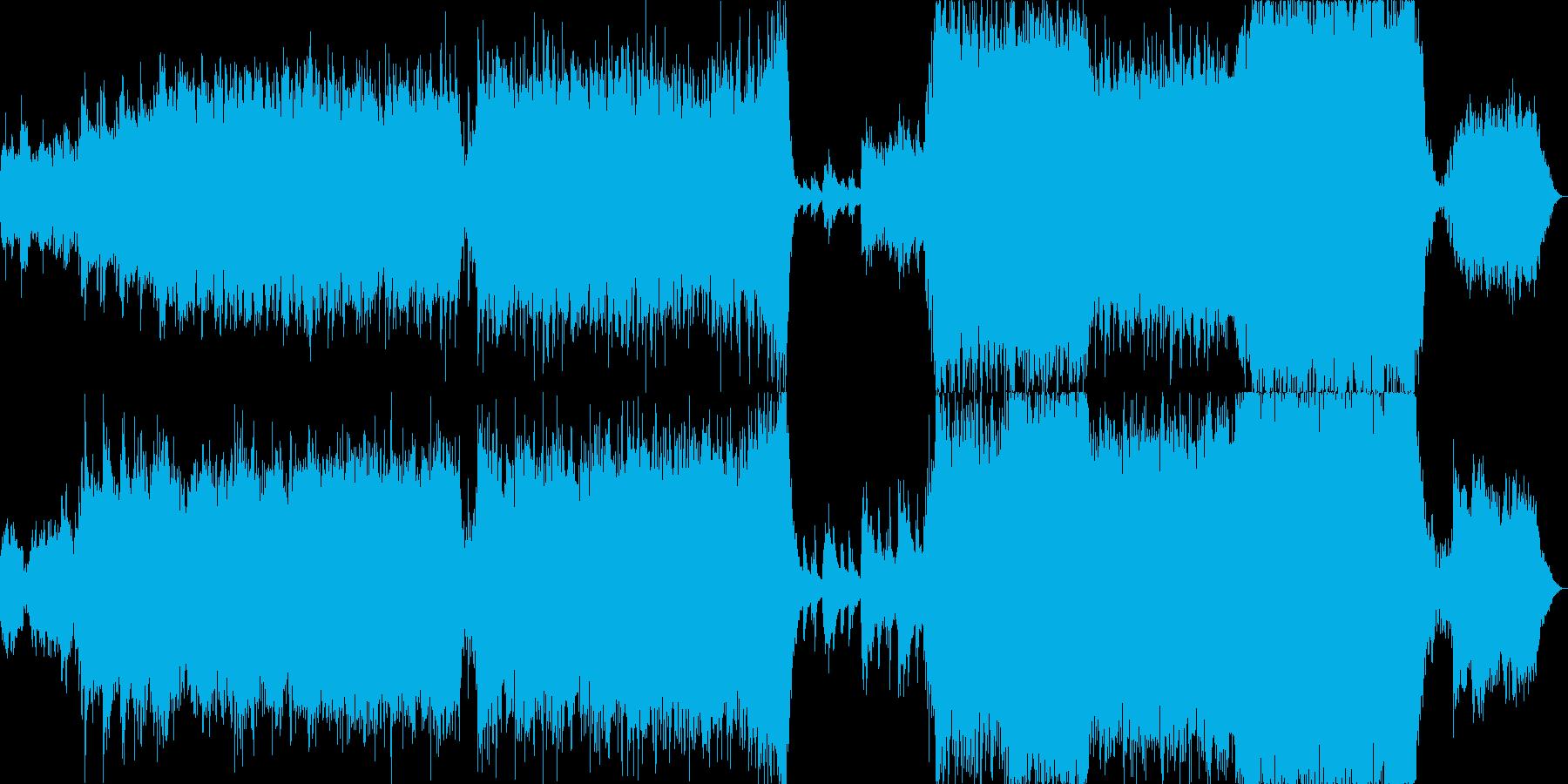 幻想的かつ壮大なオーケストラ/ボス戦の再生済みの波形