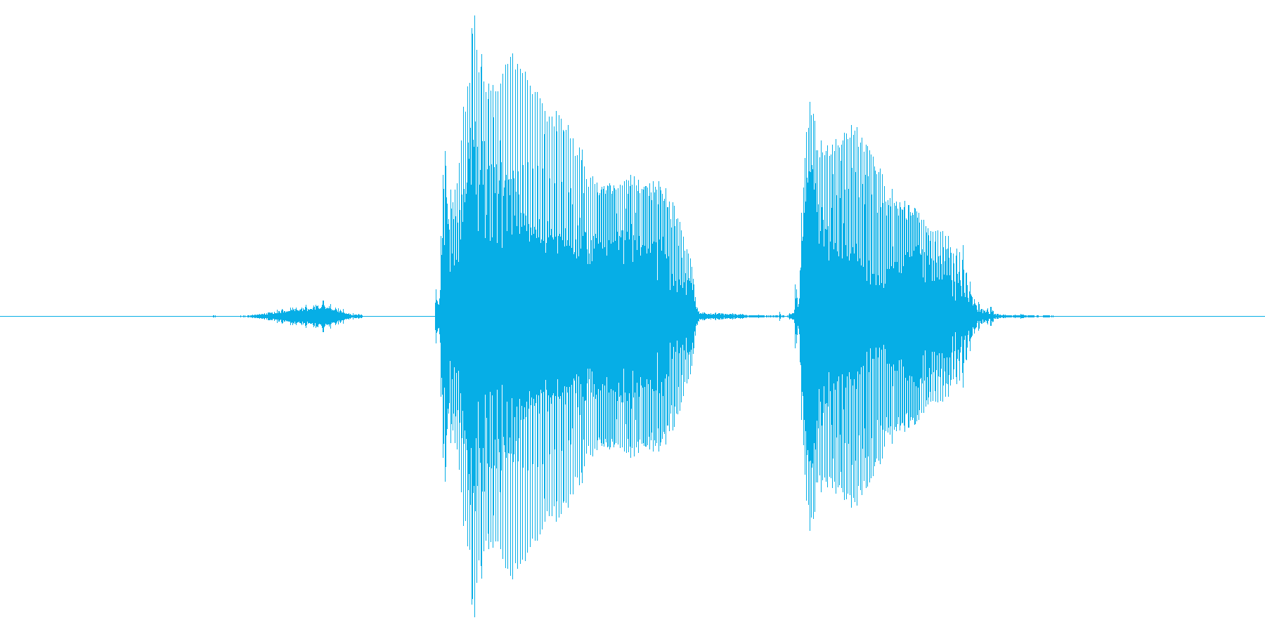 【元気】スタート!の再生済みの波形