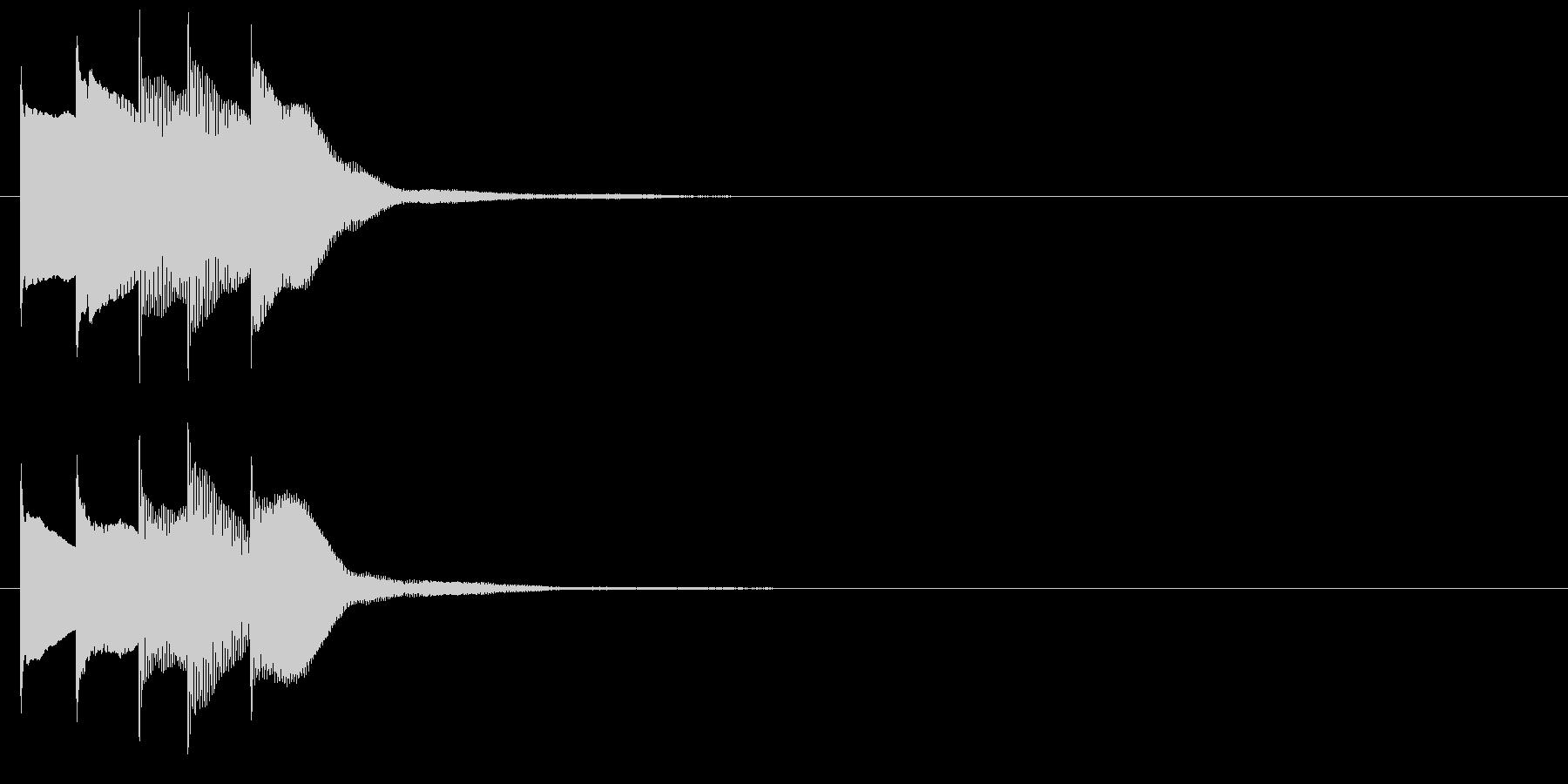 アラーム音08 マレット(maj)の未再生の波形