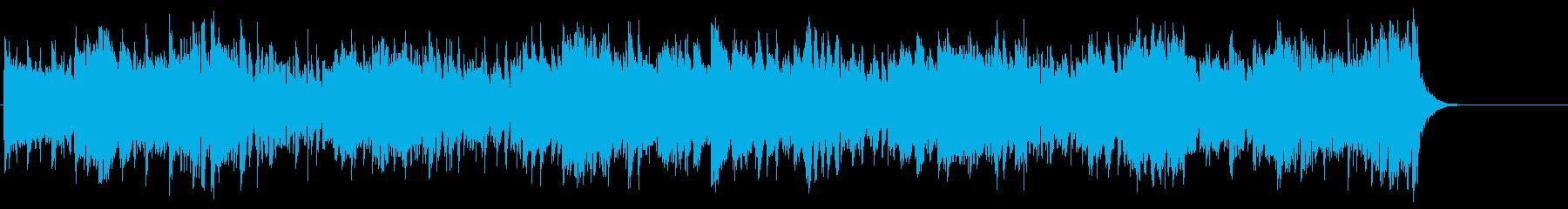 洗練のオープニングストレートフュージョンの再生済みの波形