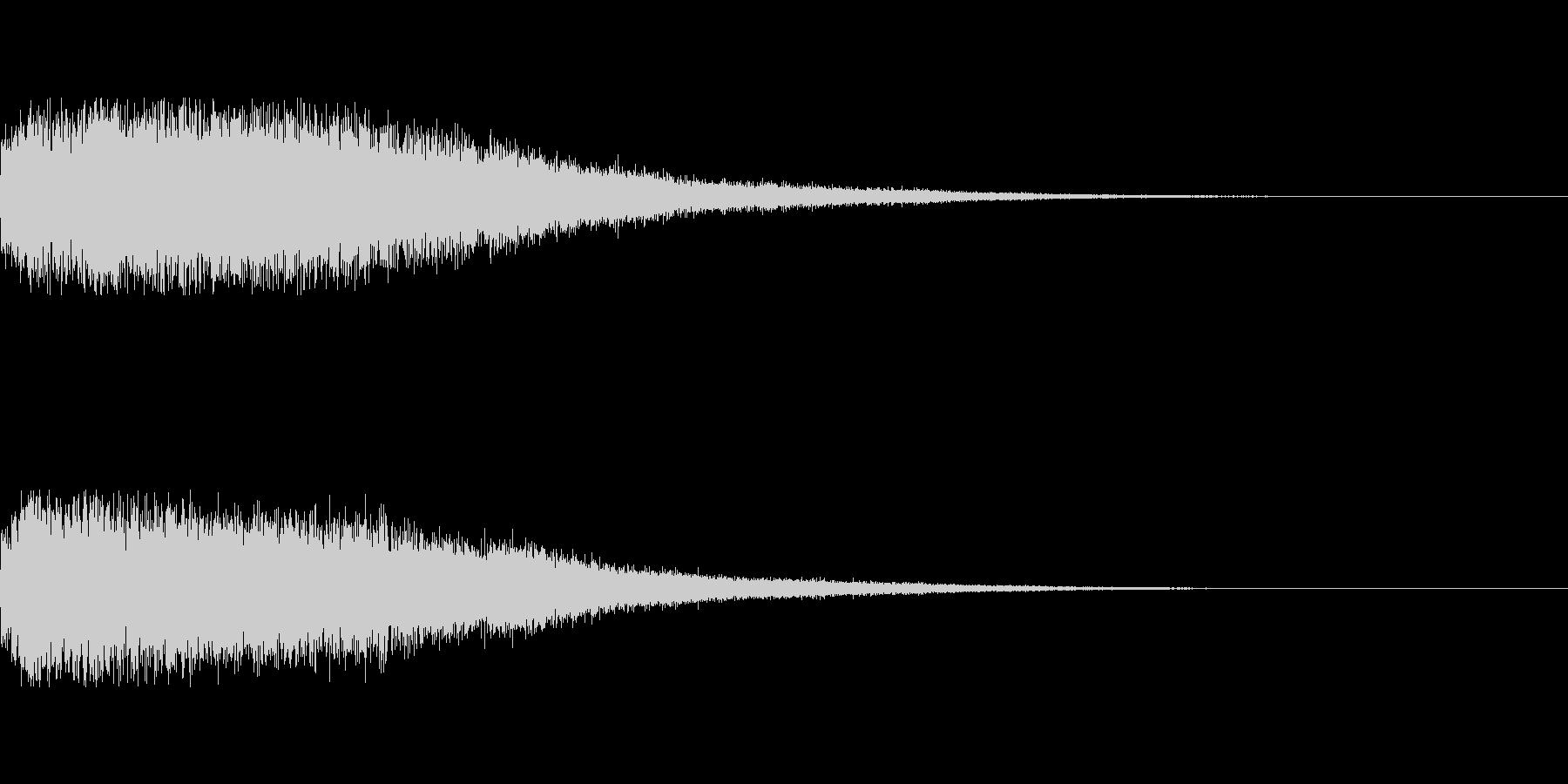 [タラララ]パラメータUP(豪華)の未再生の波形